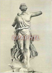 Postcard Modern Greek Sculpture Museum of Athens Olympic Institute
