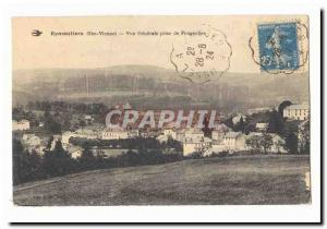 Eymoutiers Old Postcard General view taken Fougeolles
