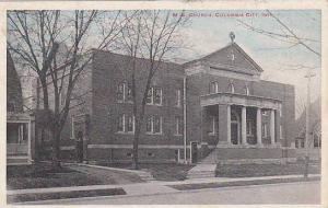 M. E. Church, Columbia City, Indiana, PU-1920
