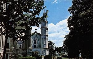 Nazareth Kentucky~Nazareth College~Church & Admin Building~1960 Postcard