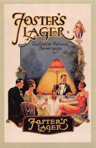 Foster's Lager, young Australians fashion, National Beverage, Nostalgia Reprint