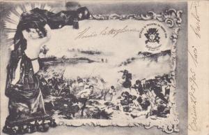 Battaglia di Palestro 30 Macgio 1859/Batlaglione 30 Maggia 1904 , Italy , 1904