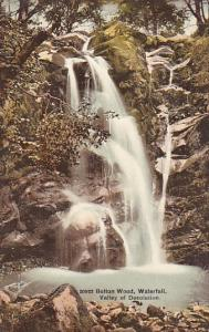 ENGLAND, 1900-1910's; Bolton Woods, Waterfall, Valley Of Desolation