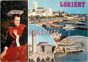 Modern Postcard Lorient Morbihan
