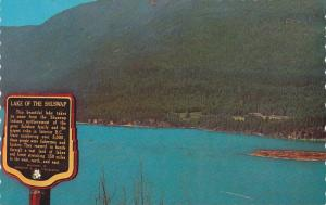 Scenic view of The Shuswap Lake,  Kamloops,  B.C,   Canada,  40-60s