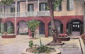 Louisiana New Orleans Old French Courtyard