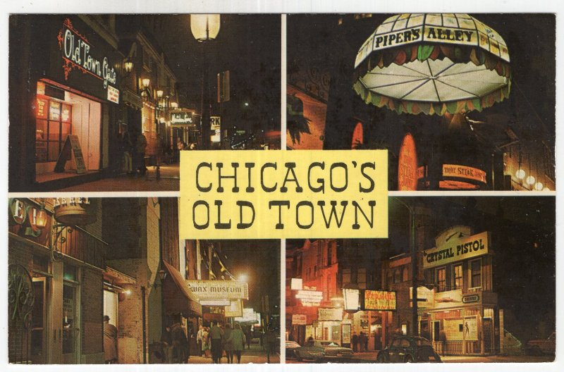 Chicago's Old Town, Wells Street