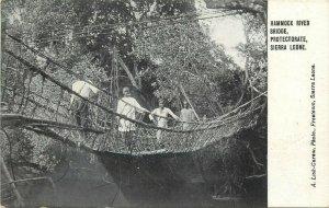 Hammock River Bridge Protectorate Sierra Leone