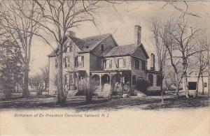 New Jersey Caldwell Birthplace Of Pressident Cleveland 1905