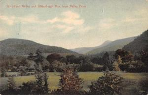 Woodland Valley New York View from Valley Farm Wittenburgh Mtn Postcard J927586