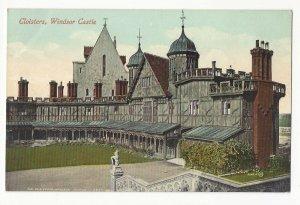 UK Berkshire England Windsor Castle Cloisters E Marshall Vntg Postcard c 1910