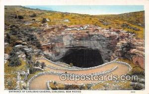 Cave, Caverns, Vintage Postcard Carlsbad, NM, USA Cave, Caverns, Vintage Post...