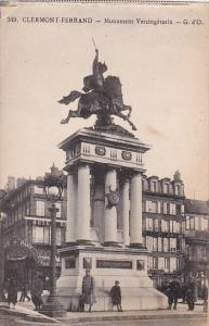 France Clermont-Ferrand Monument Vercingetorix
