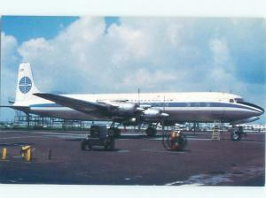 Reproduction Reprint PAN AM AIRLINES DOUGLAS DC6B AIRPLANE IN 1958 YEAR AC6234