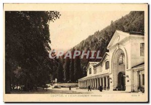 Old Postcard Luchon the Spa Establishment