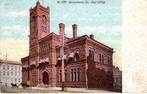 US    PC5536 SACRAMENTO, CALIF POST OFFICE, 1909
