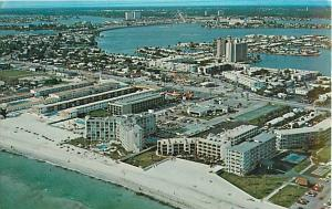 View of Part of St. Petersburg Florida FL 1978 Chrome