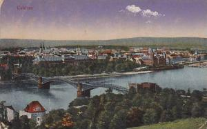 Panorama, Bridge, Coblenz (Rhineland-Palatinate), Germany 1900-1910s