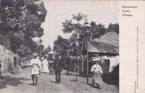 Ascension Town-Village , Sierra Leone , 1900-10s