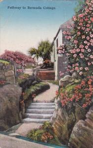 Bermuda Pathway To Bermuda Cottage 1935