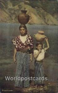 San Pedro Laguna Guatemala, Central America Indian Girls San Pedro Laguna Ind...