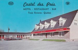 Castel Des Pres Motel and Restaurant, TROIS RIVIERES, Quebec, Canada, 40-60's
