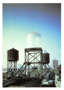 Art Sculpture Postcard, Water Tower (1998) by Rachel Whiteread BC9