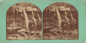 SV : CATSKILL , New York, 1990s ; The Baston Falls , Kauterkill Glen