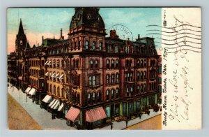 Toledo OH-Ohio, Boody House, Vintage c1909 Postcard