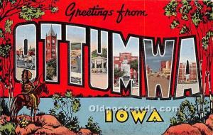 Ottumwa, Iowa, IA, USA 1945