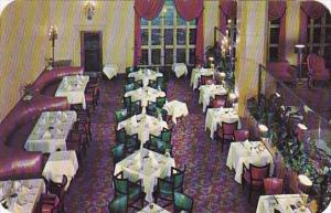 Arkansas Little Rock Interior View Of Lobby Dining Room Albert Pike Hotel