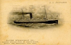 Clyde Steamship Co. - SS Arapahoe