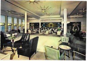 SS France 2,000 passenger Cruise Ship 1971. Lounge