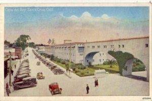 CASA DEL REY HOTEL SANTA CRUZ, CA 1928