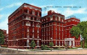 Minnesota Rochester Colonial Hospital 1947