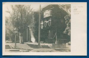 Ox Yoke Inn Amana Iowa ia real photo postcard RPPC