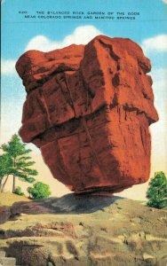 USA The Balanced Rock Garden of the Gods Near Colorado Springs And Manitou 04.73