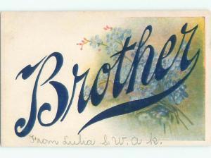 Divided-Back BEAUTIFUL FLOWERS SCENE Great Postcard AA2203