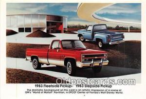 1983 Fleetside Pickup 1983 Stepside Pickup Auto, Car Unused