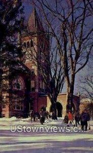 Thompson Hall, University of NH in Durham, New Hampshire