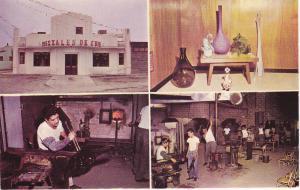 CIUDAD JUAREZ, Chihuahua, Mexico, 1940-1960s; ,4-Views, Glass Factory, Craftsmen