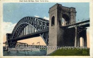 Hell Gate Bridge New York City NY 1926