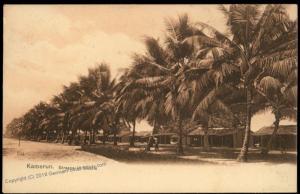 Germany Kamerun Postcard PPC  Duala Street Cameroun West-Afrika 85111