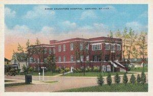ASHLAND , Kentucky , 1930-40s ; Kings Daughters Hospital
