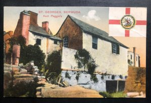 Mint St George Bermuda Picture Postcard Aunt Peggies House
