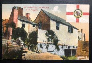 Mint St George Bermuda Picture Postcard Aunt Peggies House