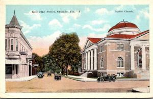 Florida Orlando East Pine Street 1922