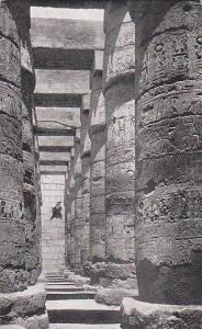 The Hypostyle Hall, View Of The Pillars At The North Side, Karnak, Egypt, Afr...