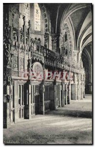 Postcard Old Cathedral of Chartres Tour of the century XVI Choir