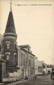 CPA Igny-La Tourelle et la Rue de VERSAILLES (260225)